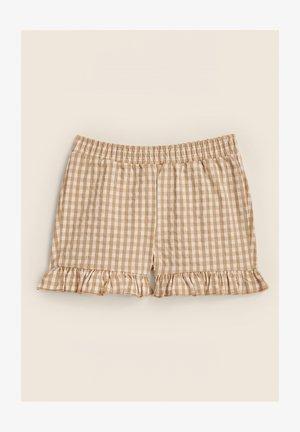 Shorts - pastel gingham
