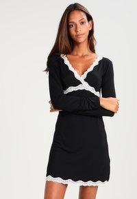 Anna Field - Noční košile - white/black - 0