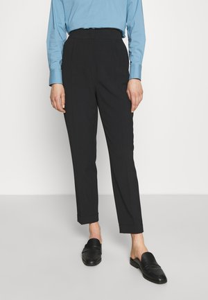 CAROL SOPHISTICATED PANTS - Trousers - black