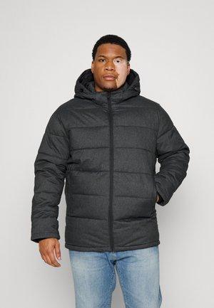 SLHBERGEN PUFFER - Winter jacket - dark grey melange