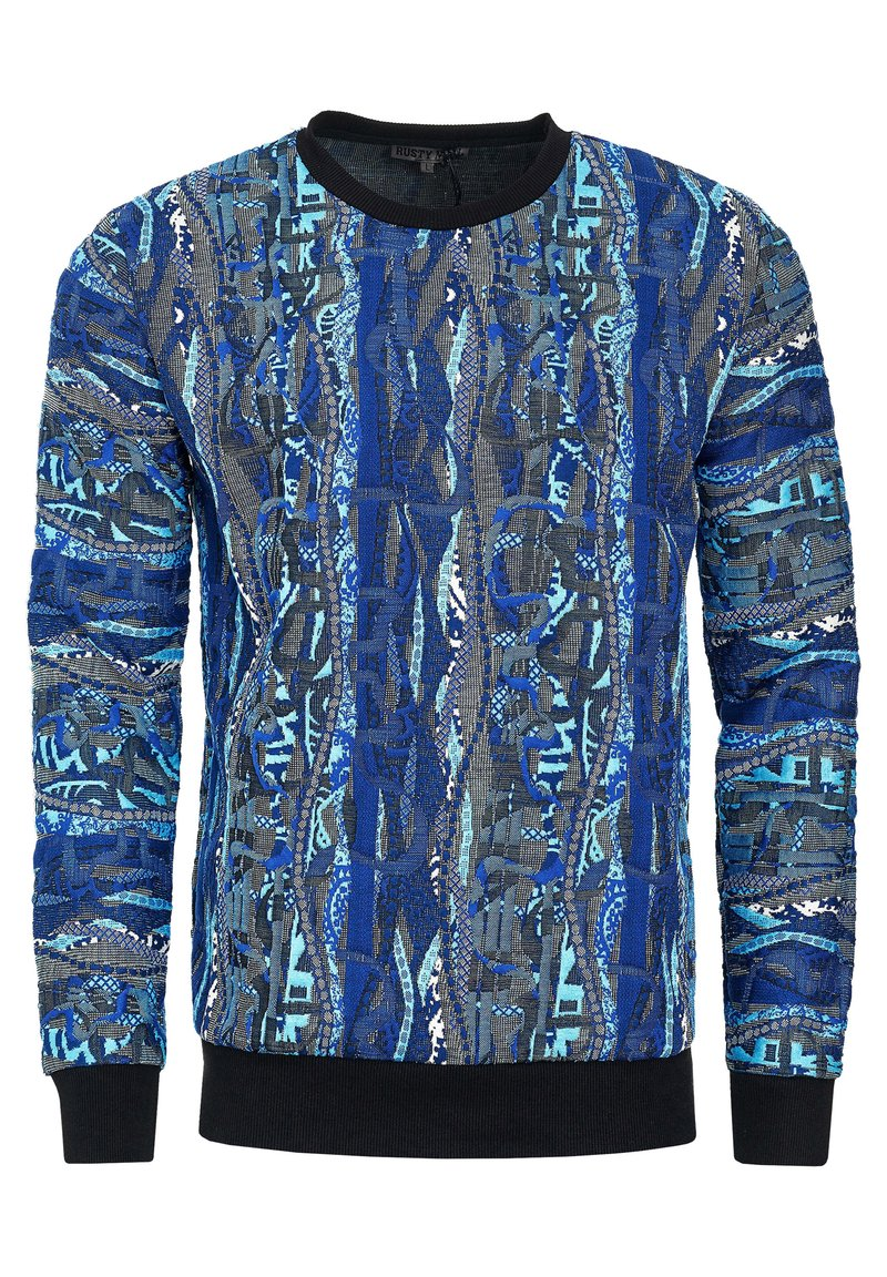 Rusty Neal - IM COOLEN NEW YORK-STYLE - Sweatshirt - indigo