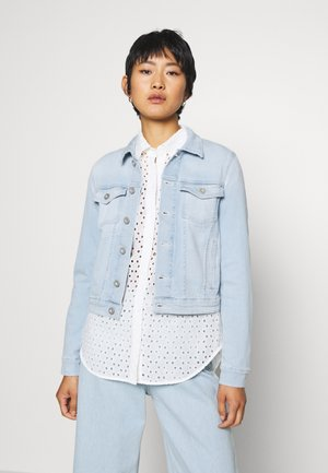 JACKET BUTTON CLOSURE LONG SLEEVES REGULAR LENGTH - Denim jacket - light-blue denim