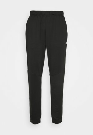 HERREN FUAT - Tracksuit bottoms - black