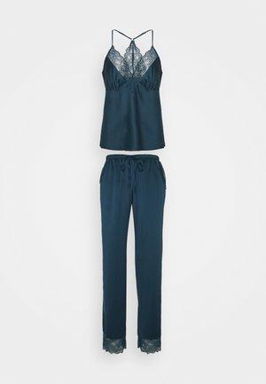 MEGHAN CAMI AND PANT - Pyjama set - teal
