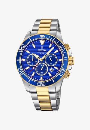 Chronograph watch - bicolor