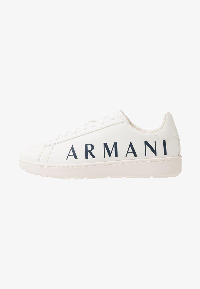 Armani Exchange - Zapatillas - optical white/navy