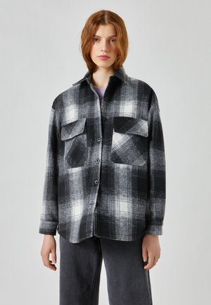 Summer jacket - mottled black