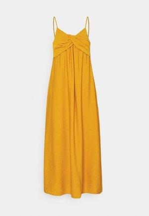 STRAPPY TWIST FRONT MIDI - Day dress - golden yellow