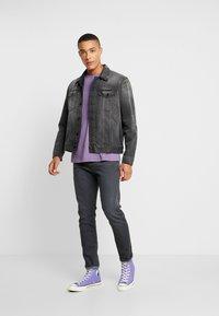 Nudie Jeans - JERRY - Denim jacket - black midnight - 1