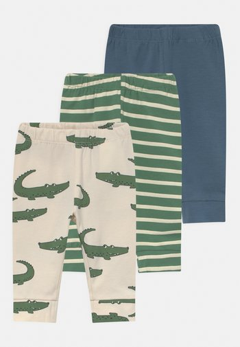 NBMMARIO LONG JOHN 3 PACK - Trousers - dark ivy