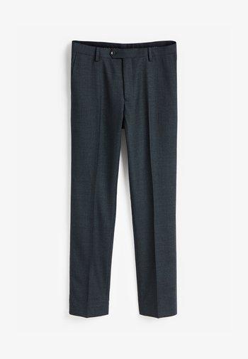 SLIM FIT  - Oblekové kalhoty - blue