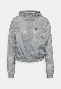 Guess - PACKABLE HOODED - Giacca sportiva - lead grey - 0