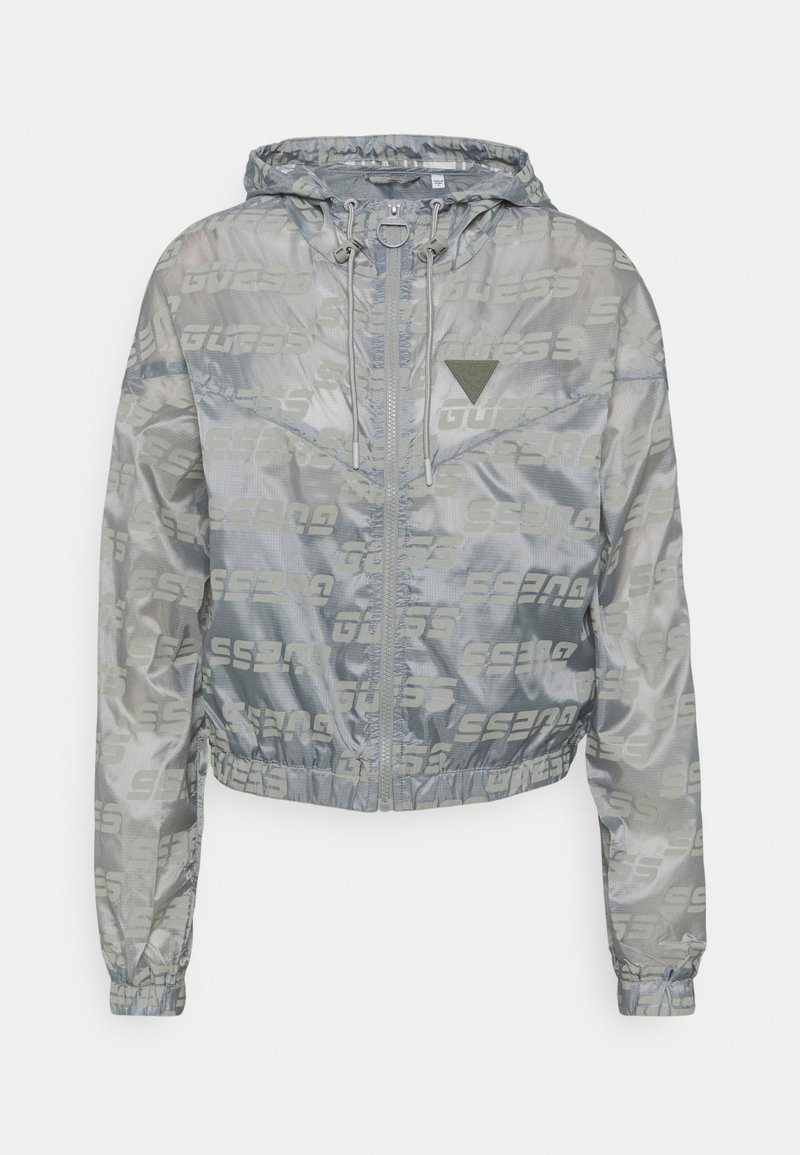Guess - PACKABLE HOODED - Giacca sportiva - lead grey