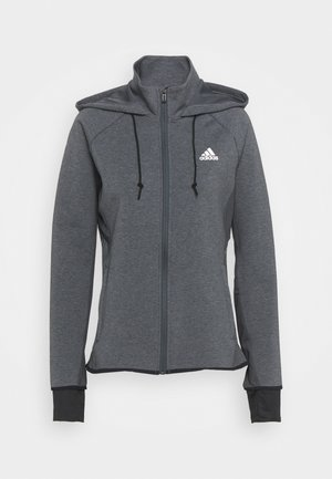 Trainingsjacke - dark grey/white