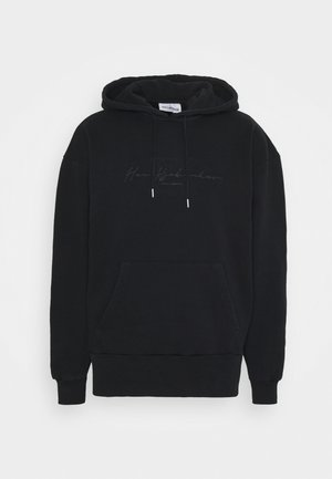 BULKY HOODIE - Sweater - faded black