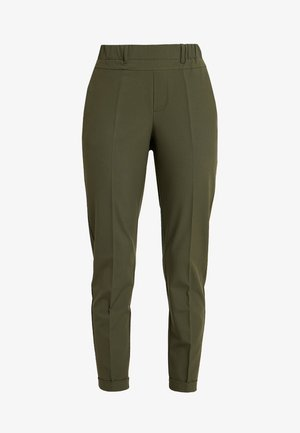 NANCI JILLIAN PANTS - Pantalones - grape leaf