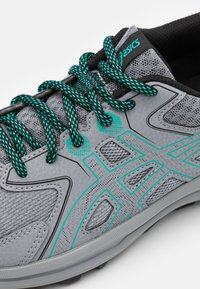 ASICS - SCOUT - Trail running shoes - sheet rock/baltic jewel - 5