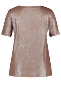Samoon - Basic T-shirt - mocca brown - 3