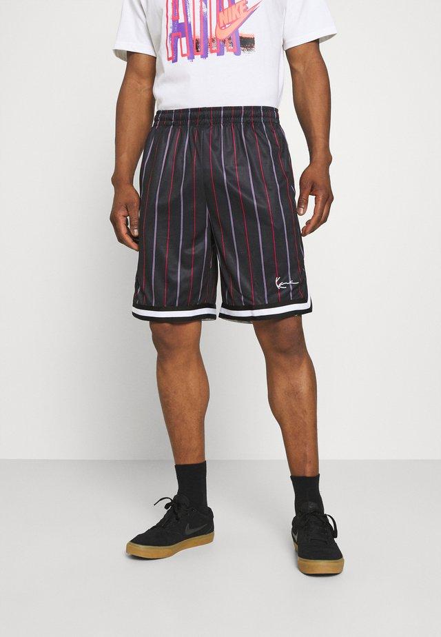 SMALL SIGNATURE PINSTRIPE  - Shorts - black