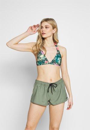 GLENNIS WOMEN - Swimming shorts - vintage green