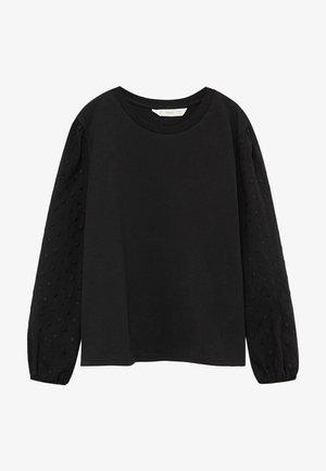 PLUMETI - Long sleeved top - černá