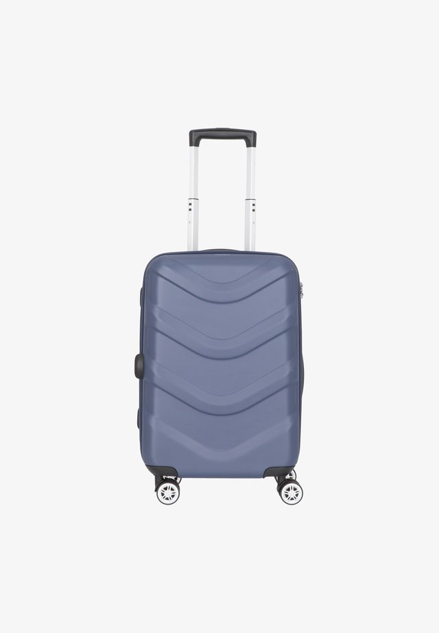 ARROW 2 4-ROLLEN KABINENTROLLEY 55 CM - Wheeled suitcase - blue