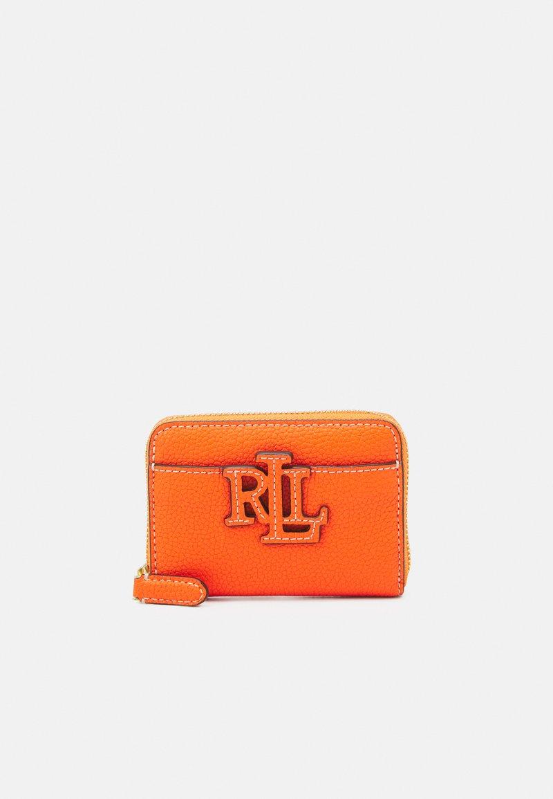 Lauren Ralph Lauren - LOGO ZIP WALLET SMALL - Wallet - nautical orange