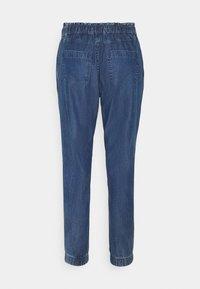 edc by Esprit - JOGGER - Trousers - blue medium wash - 1