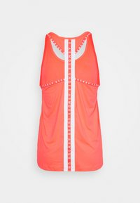 Under Armour - KNOCKOUT TANK - Sports shirt - neon pink/white - 1