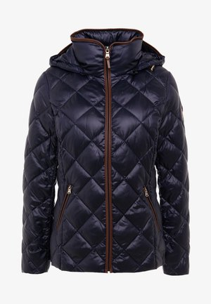 PEARL SHEEN PACKBLE REMOVABLE - Down jacket - navy