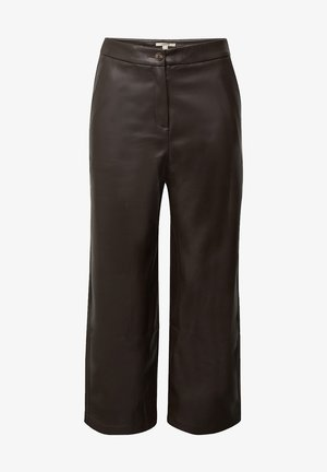 FASHION  - Trousers - brown