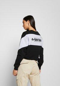 Vans - BLADEZ CROP CREW - Sweatshirt - black - 2