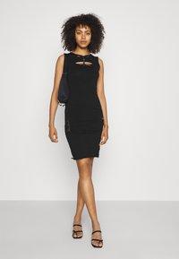 Diesel - BRAIDEN - Jersey dress - black - 1