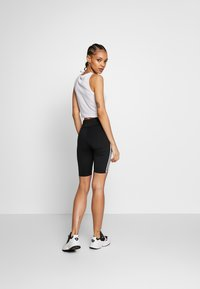 adidas Originals - ORIGINALS HIGH WAISTED TIGHTS - Short - black/white - 2