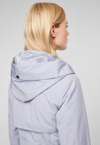 s.Oliver - MIT NETZ-FUTTER - Waterproof jacket - lilac - 5