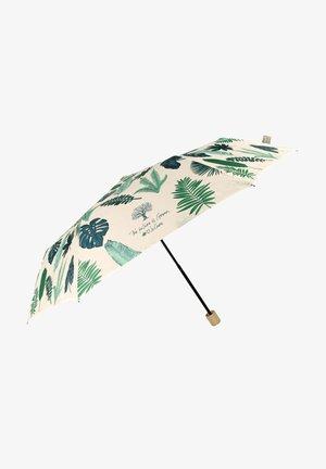 MANUAL UMBRELLA WITH LEAVES - Umbrella - beige