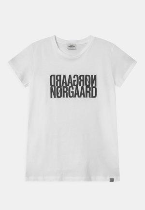 TUVINA UNISEX - T-shirt print - white
