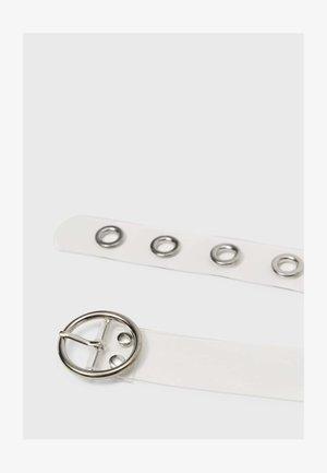 MIT CLIPVERSCHLUSS - Belt - grey