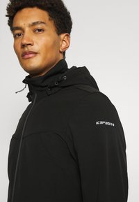 Icepeak - BRIMFIELD - Soft shell jacket - black - 4