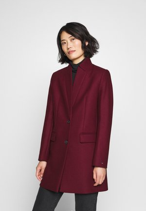 COAT - Classic coat - deep rouge