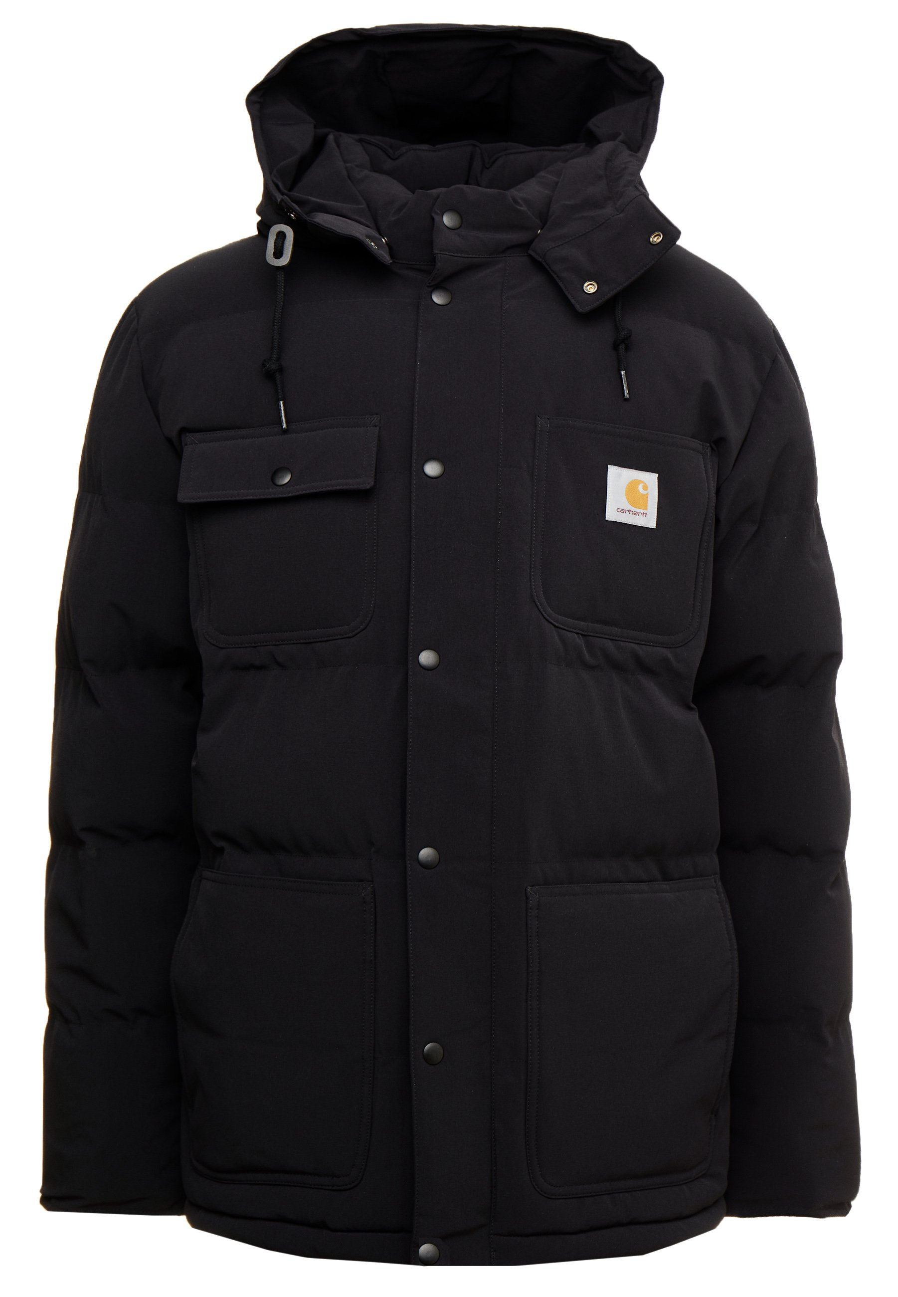 Carhartt WIP ALPINE COAT Vinterjakke black hamilton