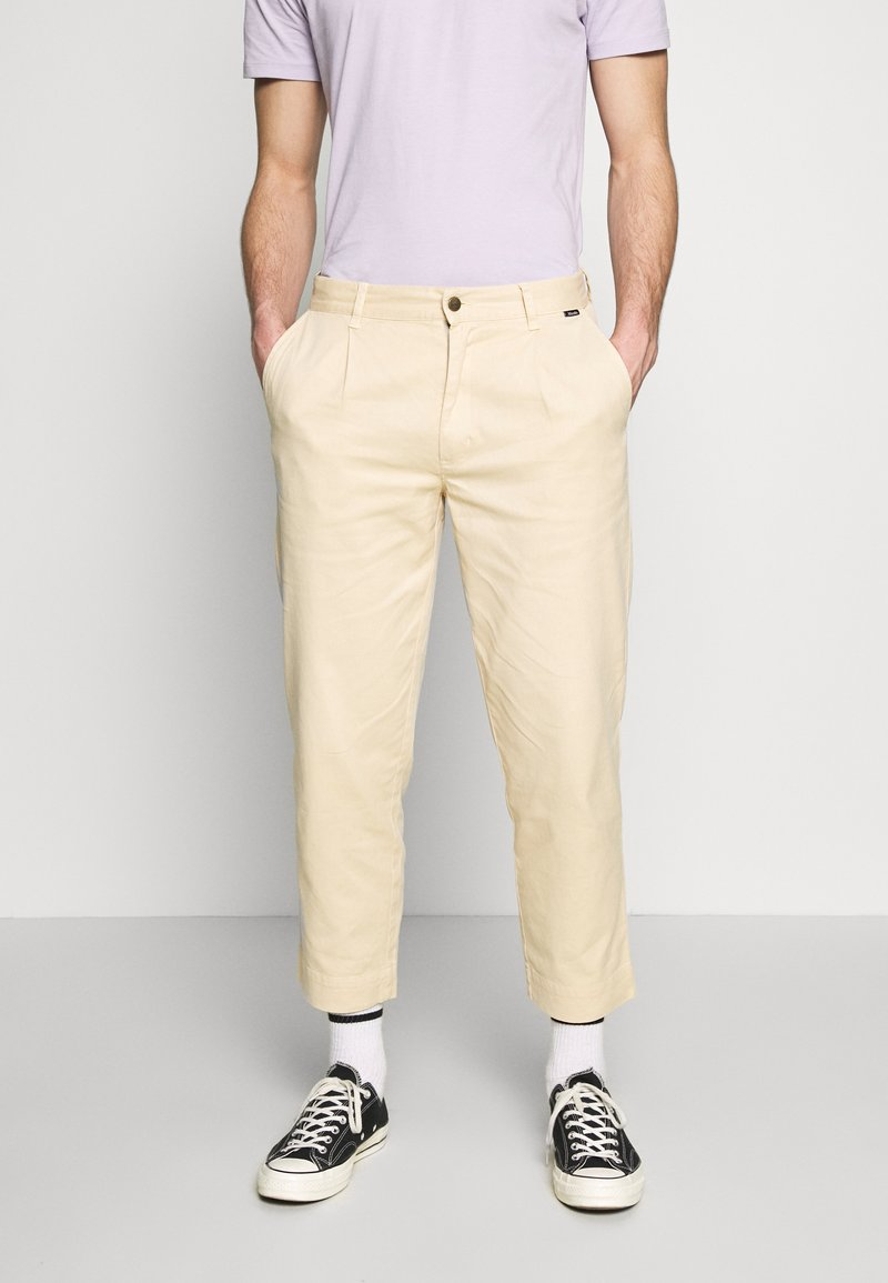Afends - DAY OFF PANT - Chinos - dirty beige