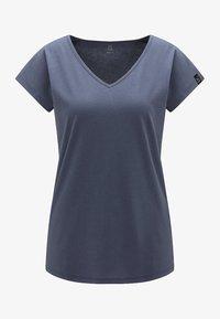 Haglöfs - FUNKTIONSSHIRT CAMP TEE - Basic T-shirt - dense blue - 4