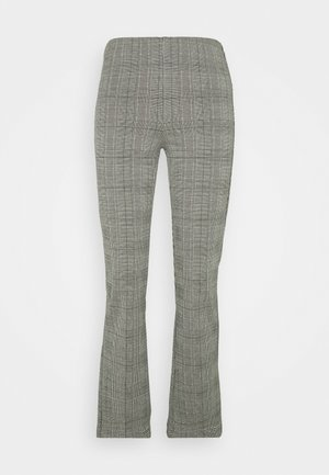TROUSERS CROPPED - Pantaloni - grey