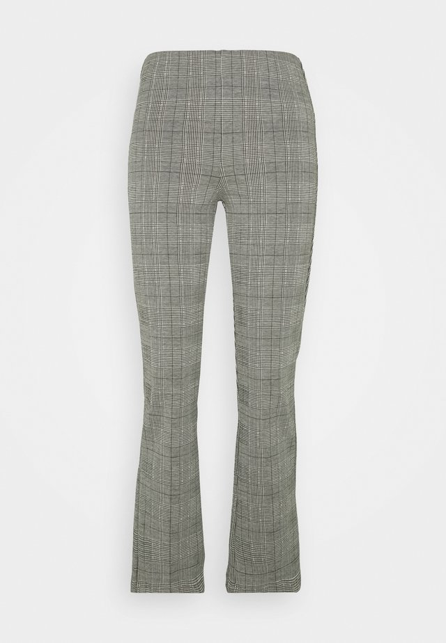 TROUSERS CROPPED - Pantalones - grey