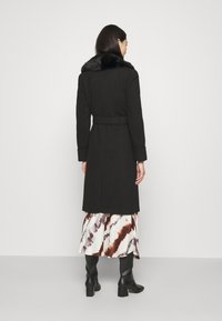 Miss Selfridge - BELT COAT - Classic coat - black - 2