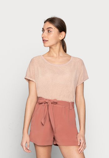 KAY TEE - T-shirt imprimé - peachskin