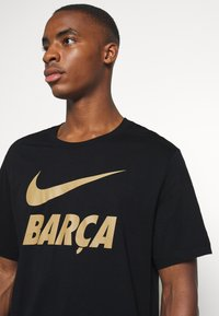 Nike Performance - FC BARCELONA TEE GROUND - Camiseta de deporte - black - 3