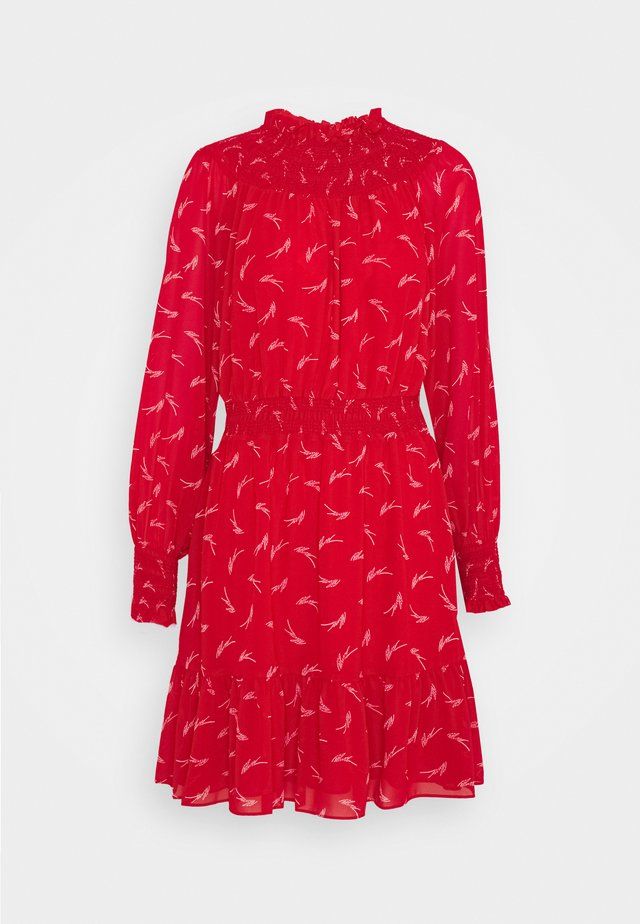SIGNATRE LOGO  - Korte jurk - crimson