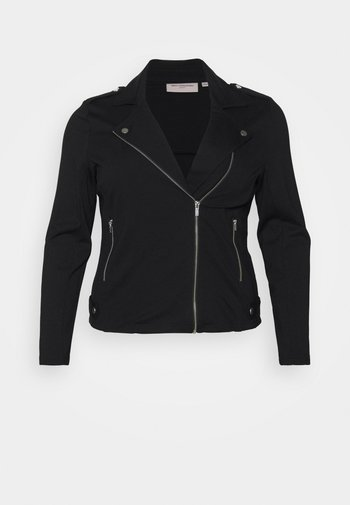 CARGOLDTRASH  BIKER - Summer jacket - black